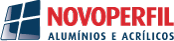 Novoperfil – Alumínios e Acrílicos Logo